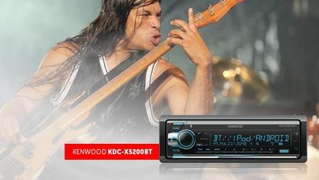 Технология Kenwood Sound Realizer: сочный и упругий бас